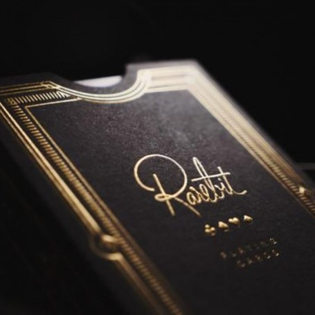 Rarebit Gold Playing Cards Theory 11