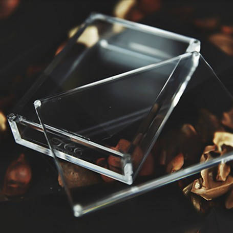 Crystal Playing Card Display Case