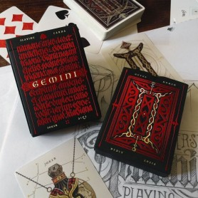 Gemini Ignis Playing Cards Stockholm 17