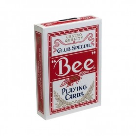 Bee Standard Playing Cards Red