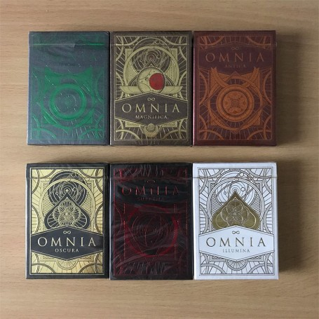 Omnia Series Playing Cards