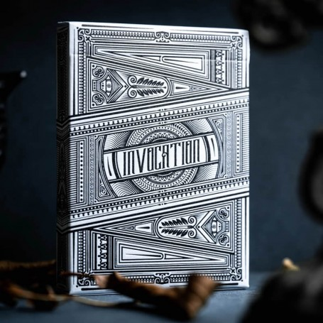 Platinum Invocation Playing Cards