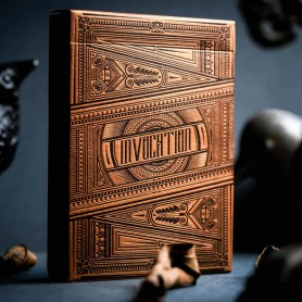 Copper Invocation Playing Cards