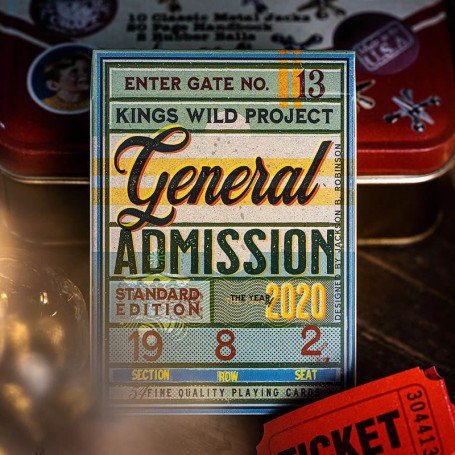 General Admissions Playing Cards
