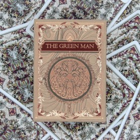 The Green Man Autumn by Jocu