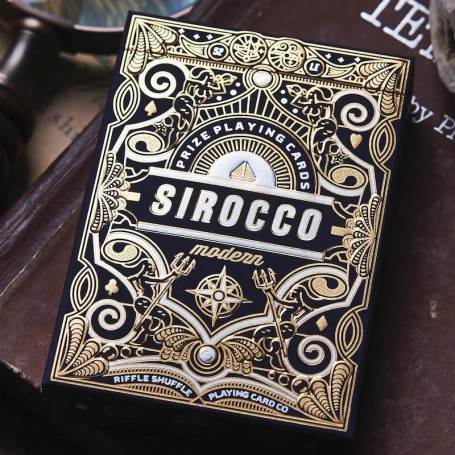 Sirocco Modern Playing Cards by Riffle Shuffle