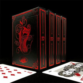 Black 17 Playing Cards by Stockholm 17