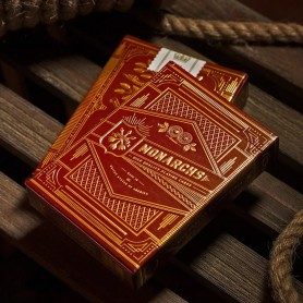 Monarch Playing Cards Red Edition