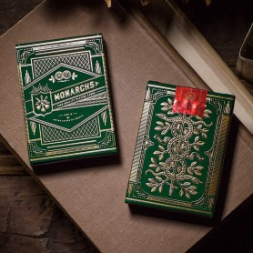 Monarch Playing Green Edition Theory 11 Playing Cards