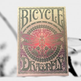 Bicycle Dragonfly Playing Cards (Teal)