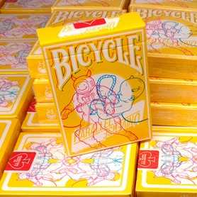 Bicycle Parallel Universe Singularity Playing Cards