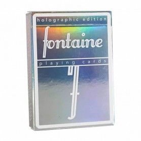 Fontaine Holographic Playing Cards