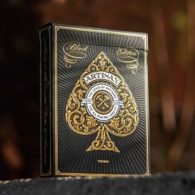 Artisan Playing Cards Black Edition