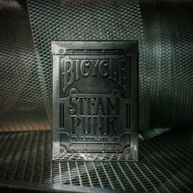 Silver Steampunks Playing Cards Theory 11 Bicycle