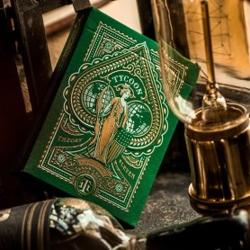 Green Tycoon Playing Cards