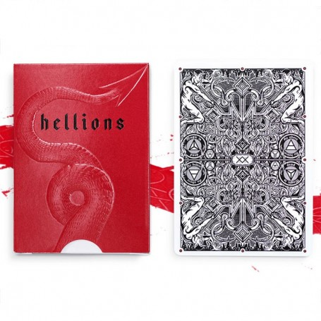 Madison Hellions V3 Playing Cards