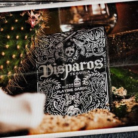 Disparos Silver Playing Cards