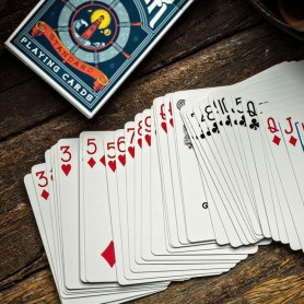 Blue Keepers Playing Cards