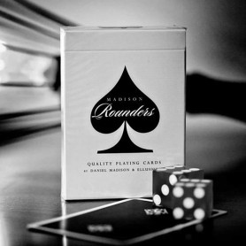 Black Madison Rounders Playing Cards