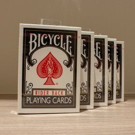 Bicycle Black Rider Back Playing Cards