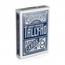 Tally Ho Blue Fan Back Playing Cards