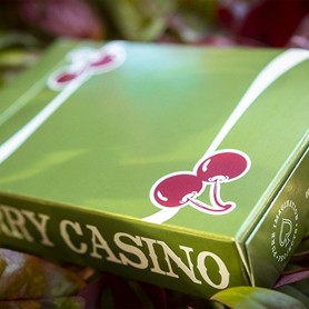 Cherry Casino Fremonts (Sahara Green) Playing Cards