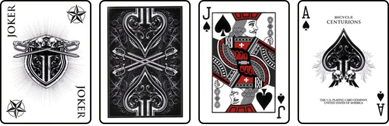 Centurions Playing Cards