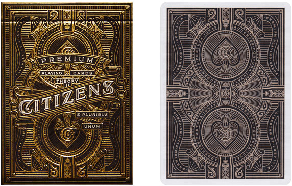 Theory 11 Citizens Playing Cards