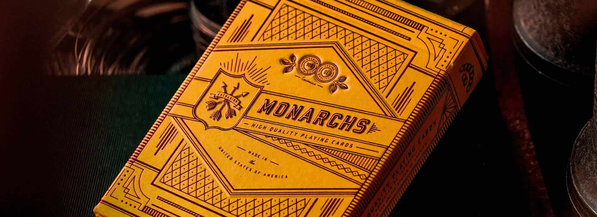 Monarch Mandarin Edition Playing Cards